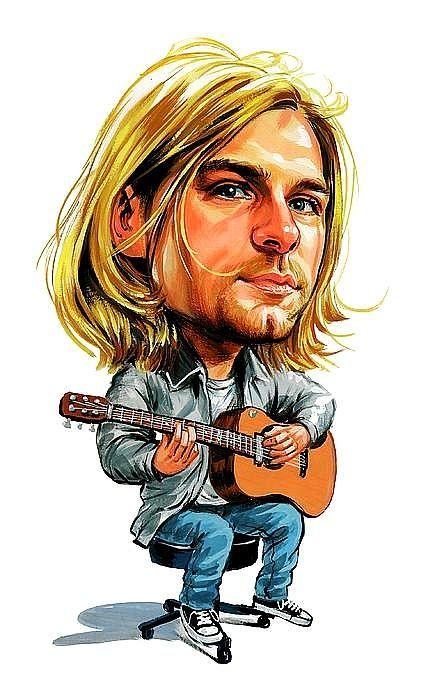 Nirvana Kurt Cobain Sticker