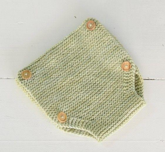 Ranita de lana en punto bobo | Nottocbaby | Peleles | Pinterest ...