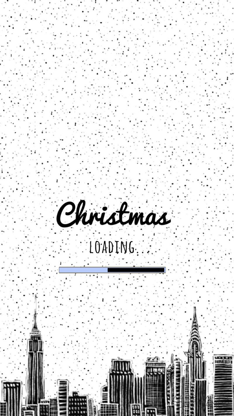 Christmas Loading Cute Christmas Wallpaper Wallpaper Iphone Christmas Christmas Phone Wallpaper