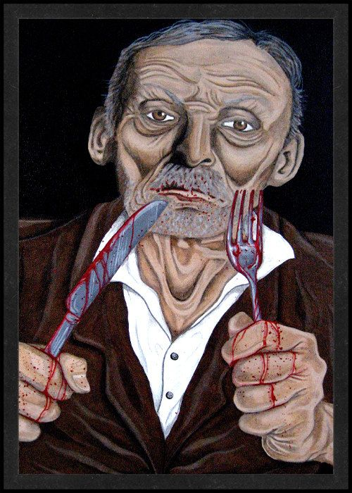 albert fish is card number 35 from the new serial killer trading