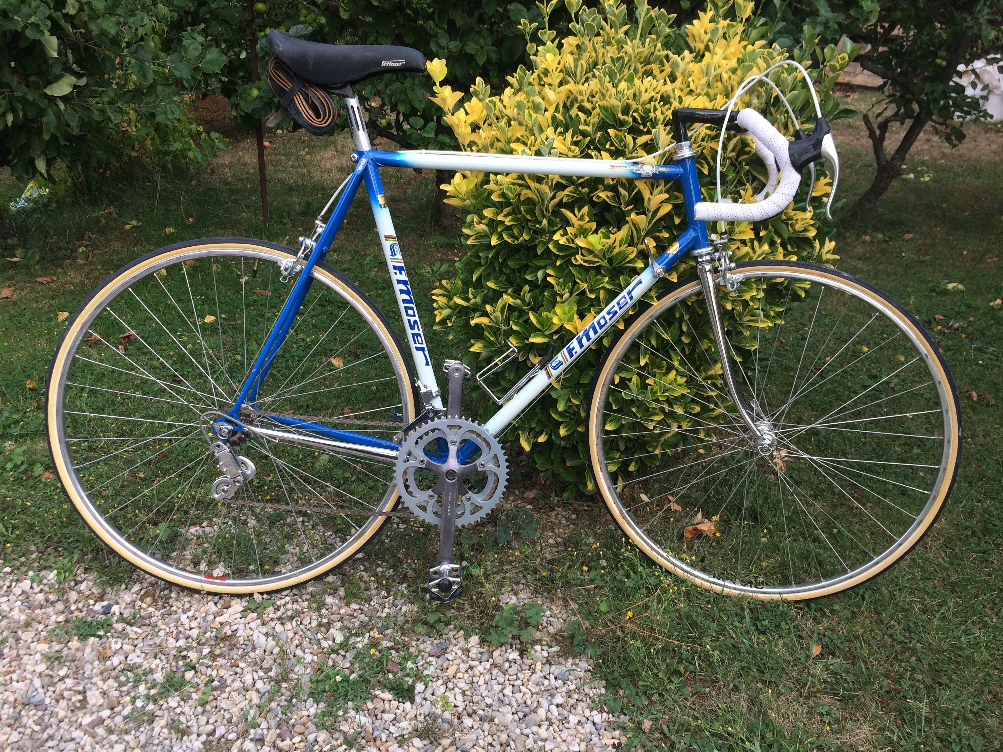 Moser corsa - campagnolo triomphe - gipiemme azzuro - mavic ssc ...