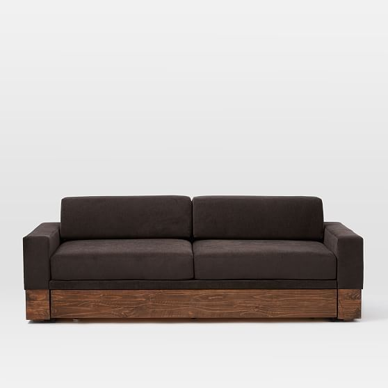 Emery Sofa Daybed Trundle At West Elm Sleeper Sofas Couches Living Room Furniture