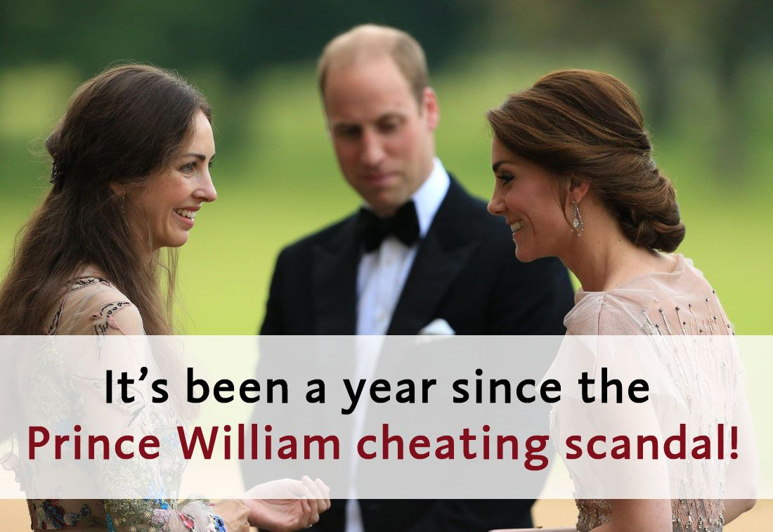 #PrinceWilliam was rumored just over a year ago to be cheating on #DuchessKate with her #RuralRival #RoseHanbury,  #MarchionessofCholmondeley, who lives near their country home, #AnmerHall in #Norfolk. William's actions to quash that story and threaten journalists made it seem even more true. #Cambridges #DuchessofCambridge #DukeofCambridge #KateMiddleton #WilliamandKate #KateandWilliam #KensingtonRoyal #Royals  #RoyalFamily #RoyalScandal #RoyalCheatingScandal