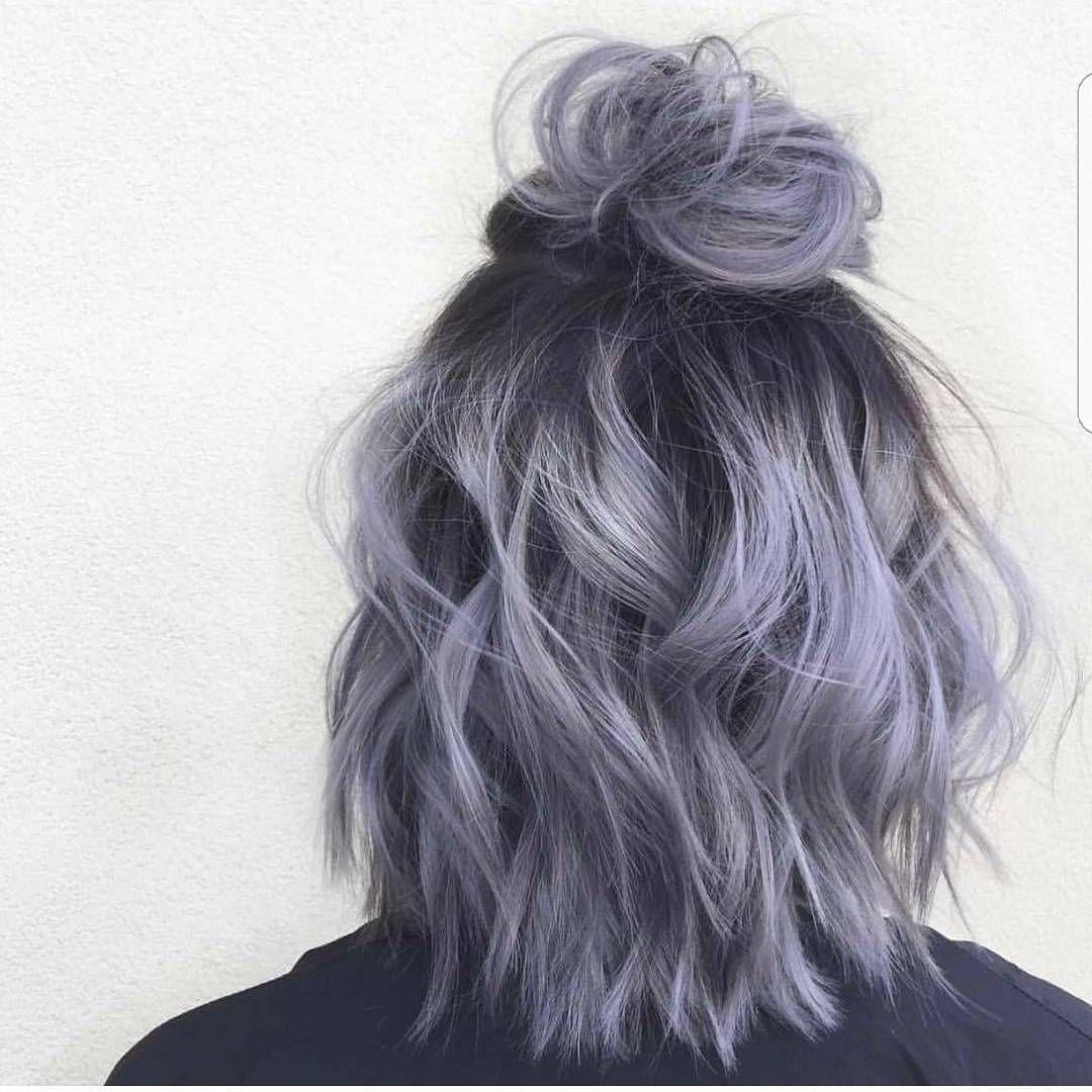 18k Aprecieri 123 Comentarii Da Hair Blogger Hairstyles Imallaboutdahair Pe Instagram Time For A Man Bun Short Ombre Hair Short Hair Updo Hair Styles