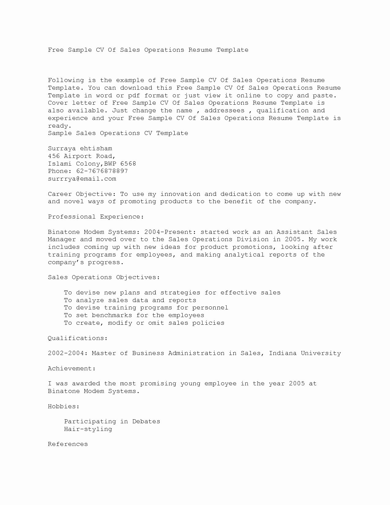 Plain Text Resume Example Beautiful Copy And Paste Resume Template Resume Template Resume Examples Resume Template Examples