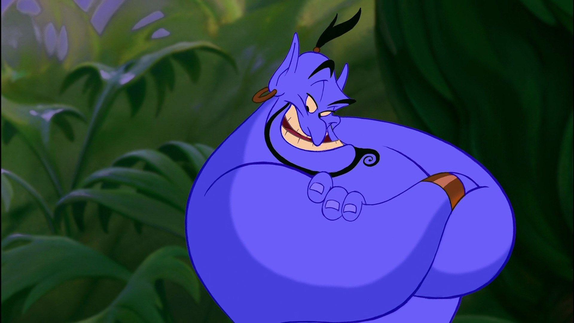 Aladdin Genie Quotes Wallpaper Hd