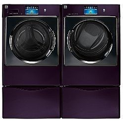 Kenmore Elite Blackberry washer and dryer. And lets face it : Blackberry = Purple. I pine! I yearn!