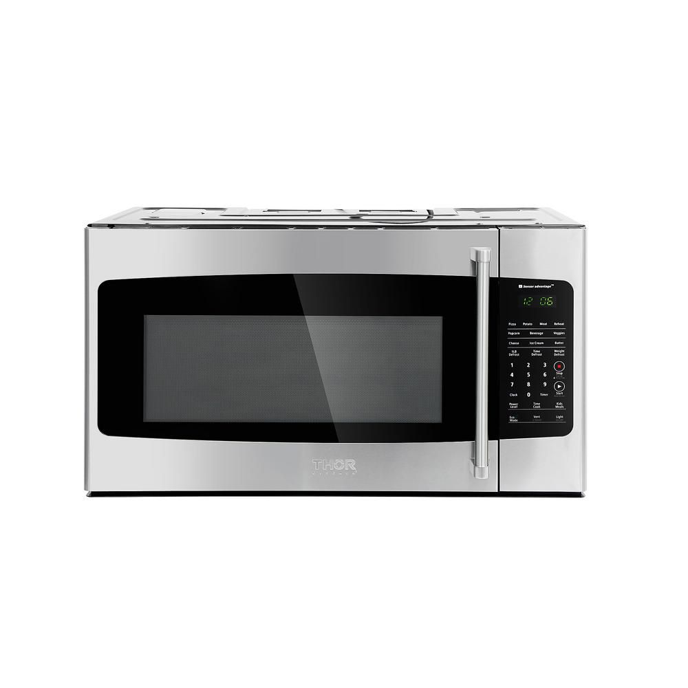 Thor Kitchen 1 7 Cu Ft Over The Range Microwave In Stainless