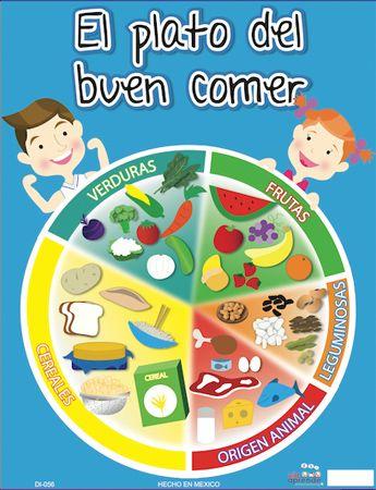 Debemos Tener Alimentarnos Bien Comer Alimentos Saludables Sanos Ricos Alimentacion Para Niños Nutricion Para Niños Plato Del Buen Comer