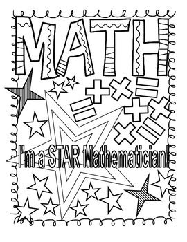 mystery picture math coloring pages