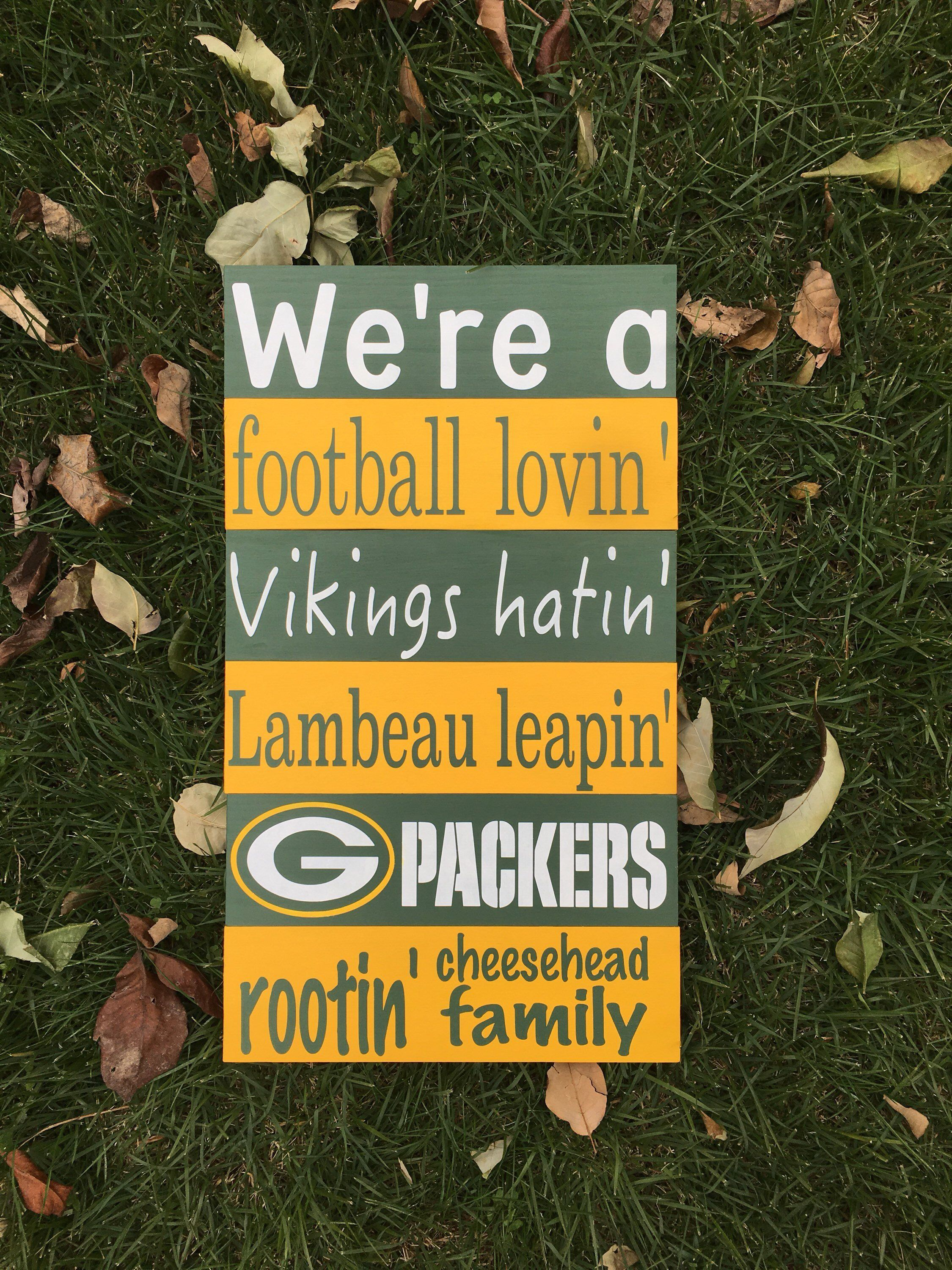 Green Bay Packers Sign Home Decor