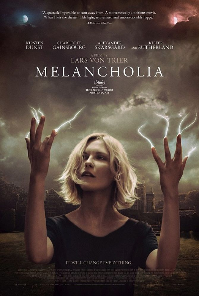 I Saw Melancholia At A Packed Theater Flick Minute Melancholia Movie Posters Melancholia Film Melancholia Movie