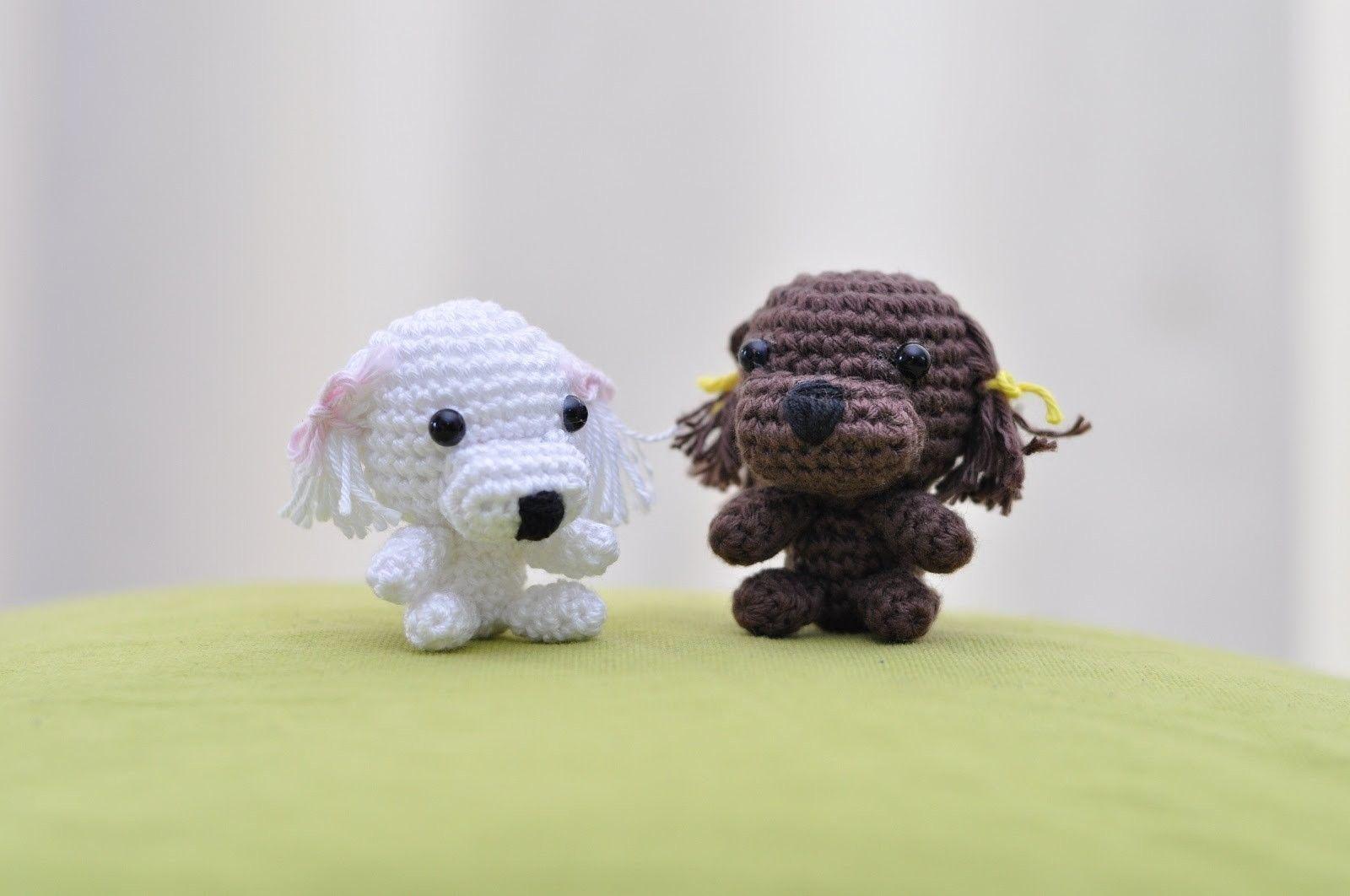 Como hacer un perro puddle   Animales tejidos, Mamá y Miniaturas