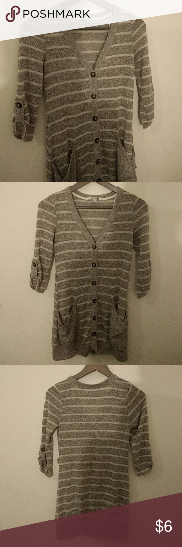 Forever 21 Cardigan | Long cardigan, Light browns and Forever 21