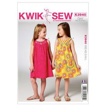 Mccall Pattern K3940 Xxs-Xs-S-M-Kwik Sew Pattern