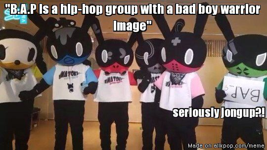 Bad boy warrior image, yeah thats it...Credit to whoever came up with this! | allkpop Meme Center