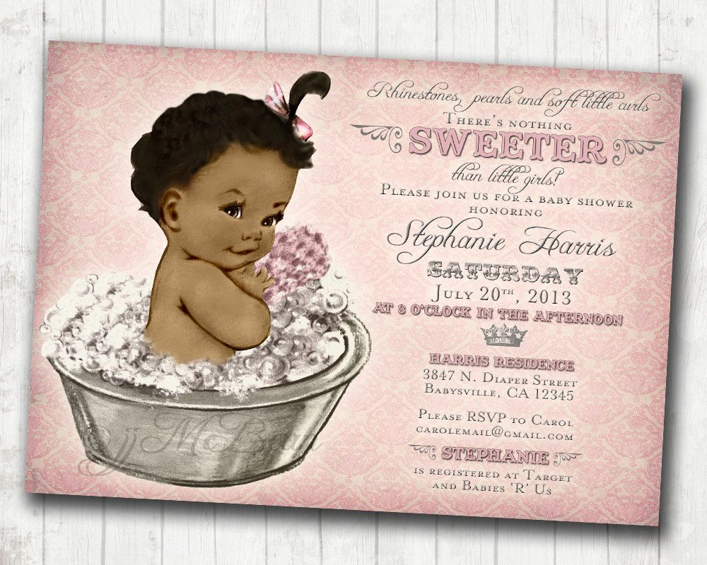 Classic Black Art in America | African American Coed Baby Shower ...