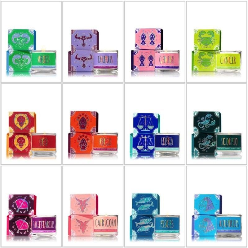 Bath Body Works Mini Scented Candles Inspired By Signs Of The