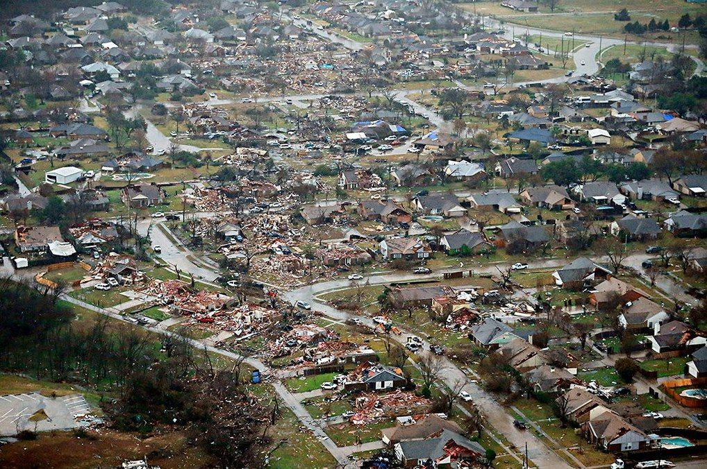Rowlett Tornado Map Google Search (With images