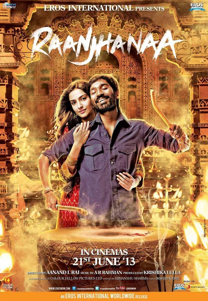 Raanjhanaa DVDRip 300MB mkv | Movies | Movies online, Hindi