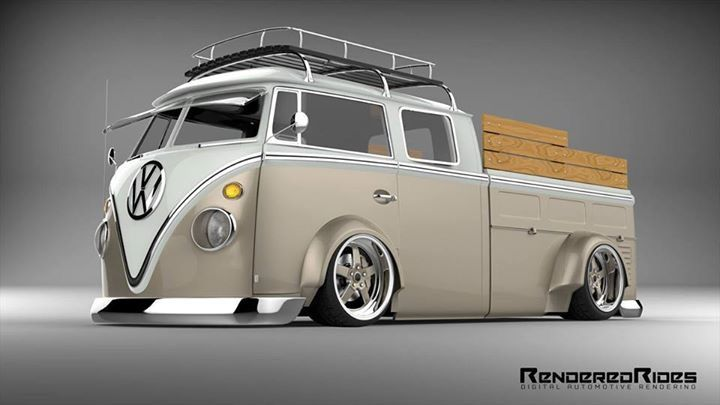 nice artwork vw combi pick up doublecab perfect garage pinterest voitures id es. Black Bedroom Furniture Sets. Home Design Ideas