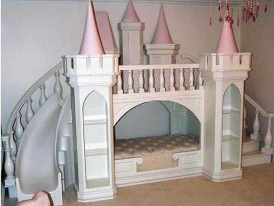 Beautiful Girls Princess Room: Princess Castle Bed By Sweetdreambed