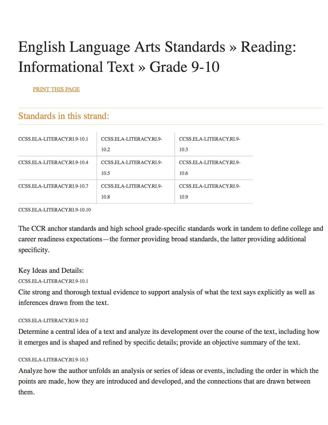 english language arts standards reading informational - HD1275×1650