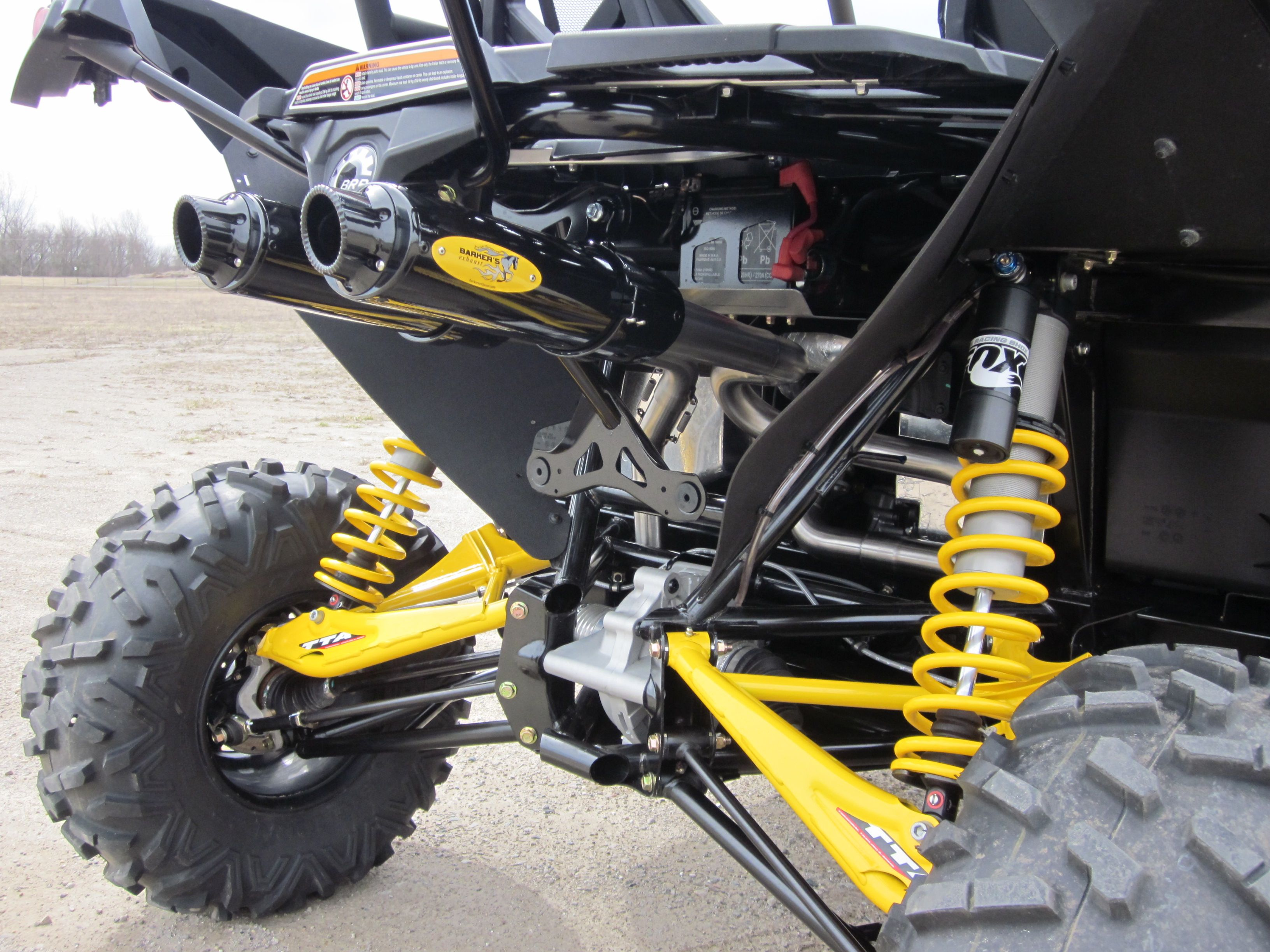 Can-Am Maverick 1000 UTV 3/4 Dual Exhaust System | Exhausted and ...