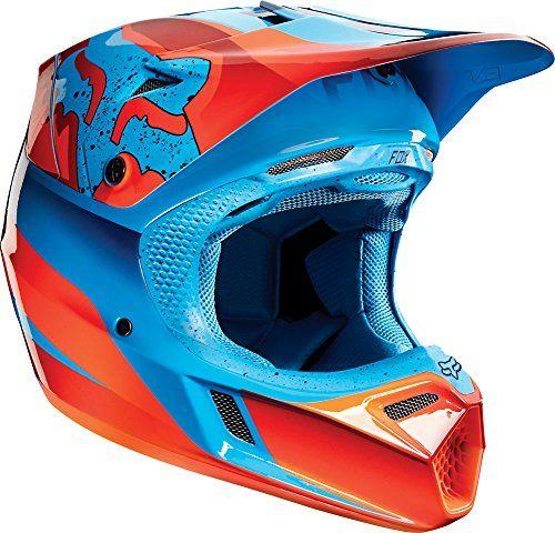 ca06a38d Fox Racing V3 Flight 2015 MX/Offroad Helmet Red MD Fox Racing http:/