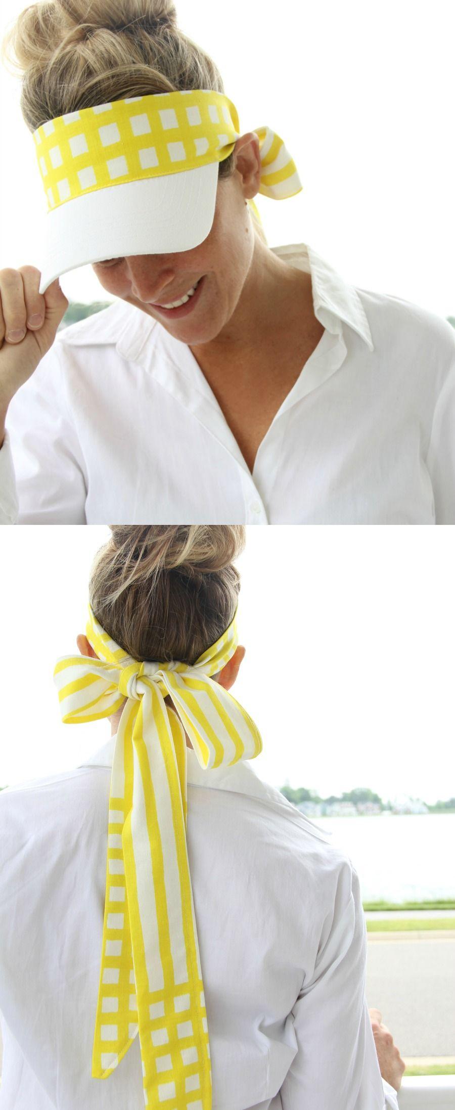 Fabric Visor DIY | Hüte, Stirnband und Mütze
