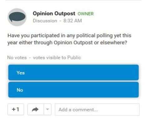 Are You On Google Follow Opinion Outpost And Participate In Our