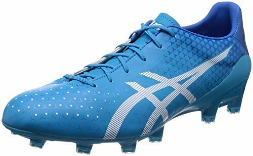 71a5298c956 Advertisement(eBay) Asics Soccer Football Spike Shoes Menace 3 Tsi425 Blue  Us6.525Cm