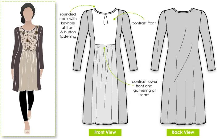 Libby Dress Sewing Pattern By Style Arc | Cool Things | Pinterest