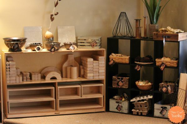 12 Ideas for Storing Loose Parts