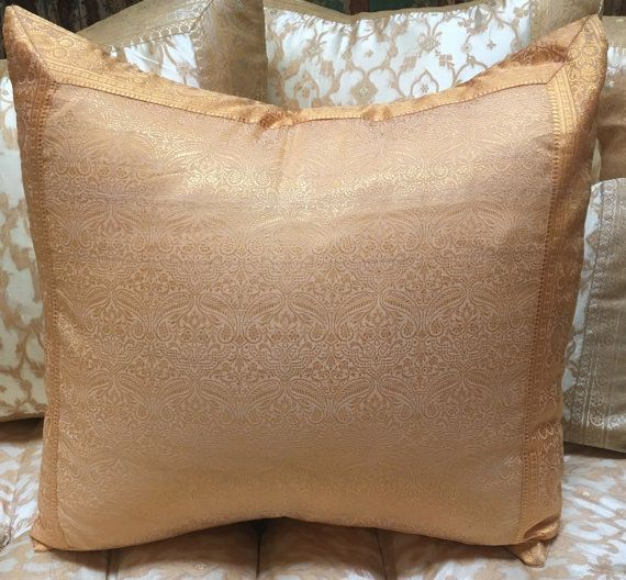 Cream Authentic Bohemian Cushions Cover, Olive Green Paisley Pillow Cover,  Decorative Throw Pillows,