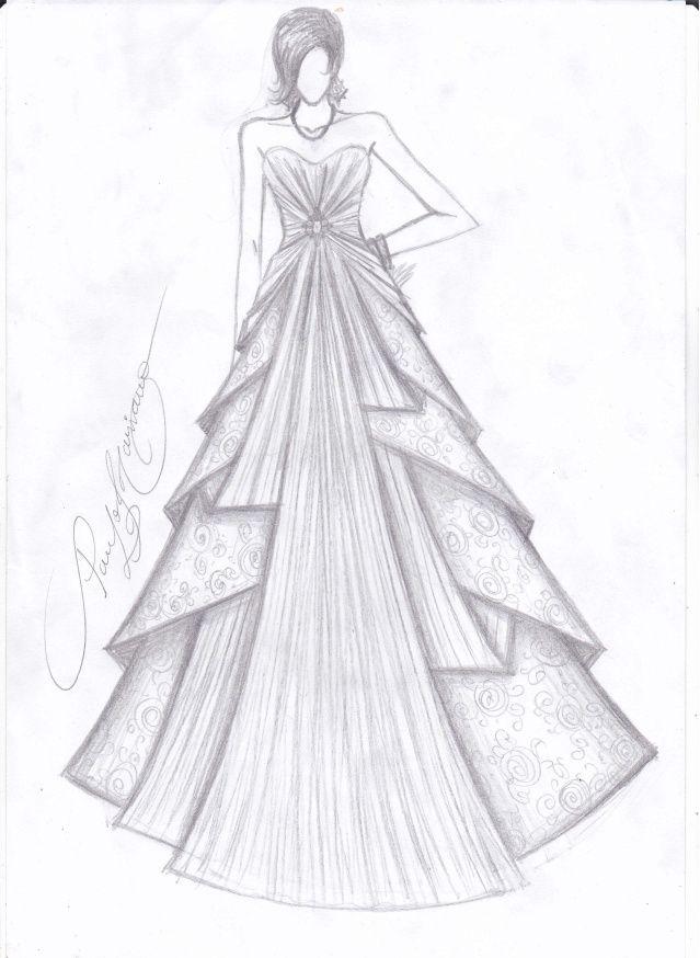 Vestido De Prenda Desenho Pesquisa Google Com Imagens