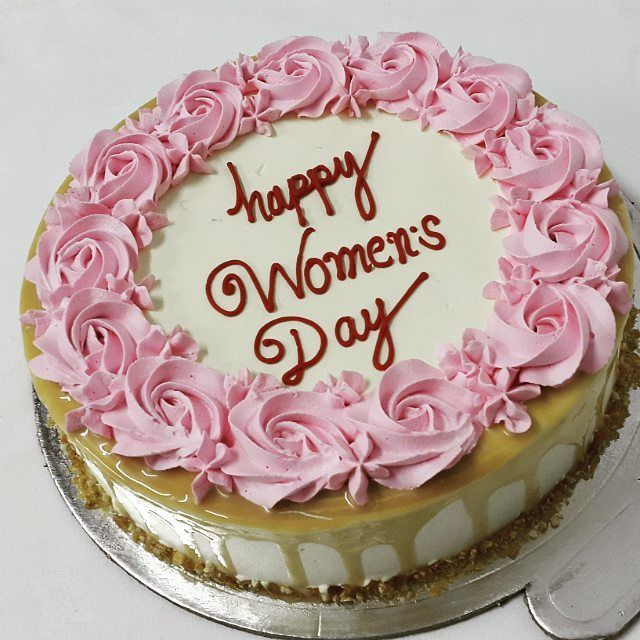 Happy Womens Day Cake Online Delivery Woman Birthday