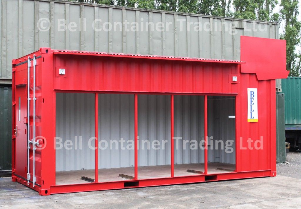 Shipping container conversions & Shipping container conversions and pop-up containers London | Pop ...