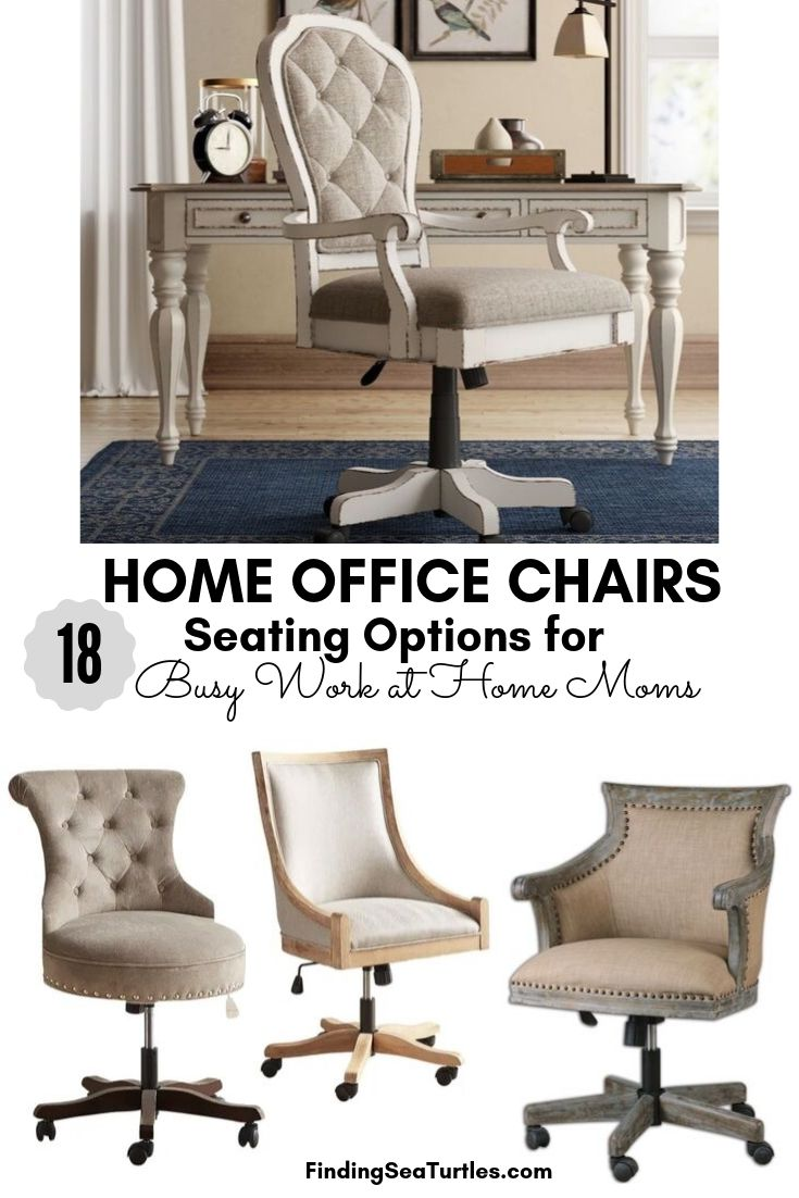 18 Modern Farmhouse Office Chairs For Your Workspace Finding Sea Turtles In 2020 Farmhouse Office Chairs Farmhouse Office Decor Home Office Design