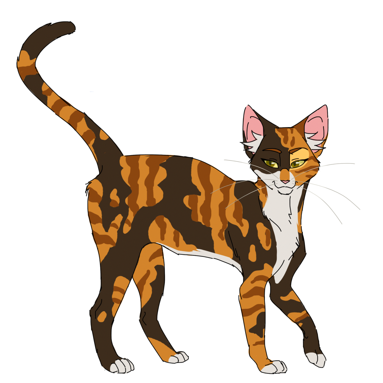 100 Warrior Cats Challenge 10 Spottedleaf (Feel free to