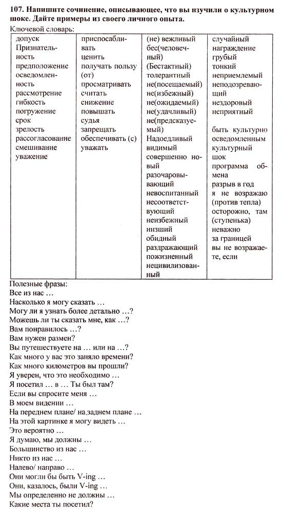 Key vocabulary 11 класс b jktnjdf