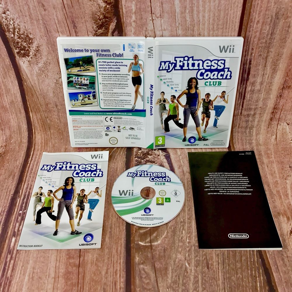 check out wholesale various styles Wii Games My Fitness Coach club balance upper lower body ...