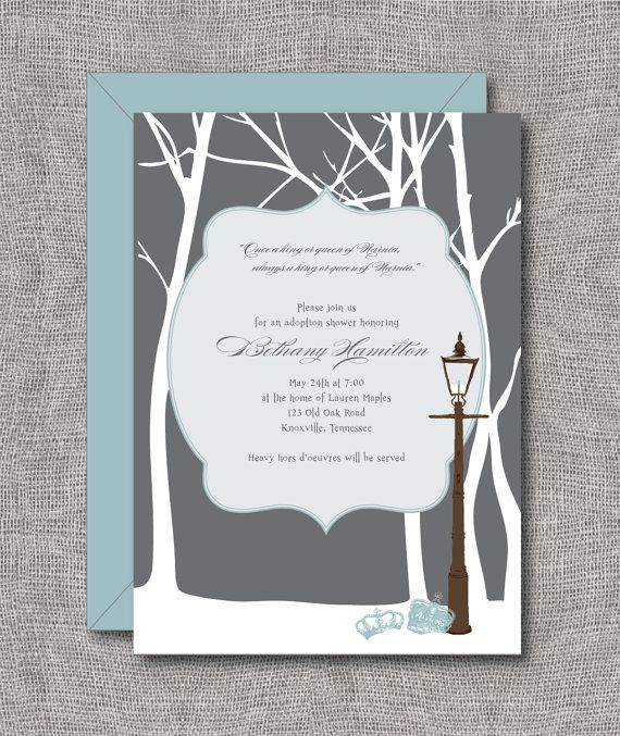 Https://www.etsy.com/listing/188186415/baby Shower Invitation Winter  Wonderland | Event Ideas | Pinterest | Shower Invitations, Narnia And Winter