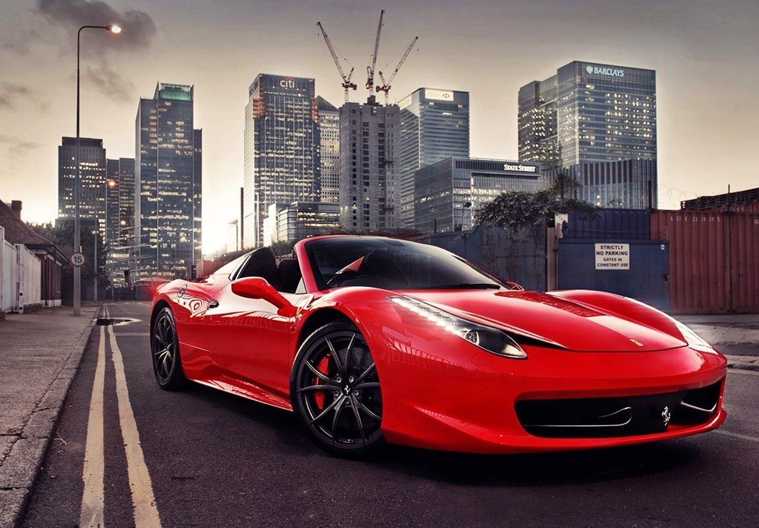 Ferrari 458 Spider Wallpapers PC Most
