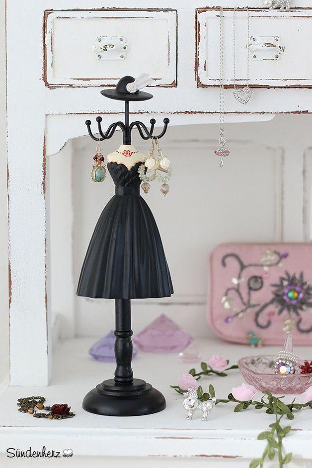 Deko-Objekte - Juwelenhalter ♥ Schmuckständer - ein Designerstück von bleuetrose bei DaWanda