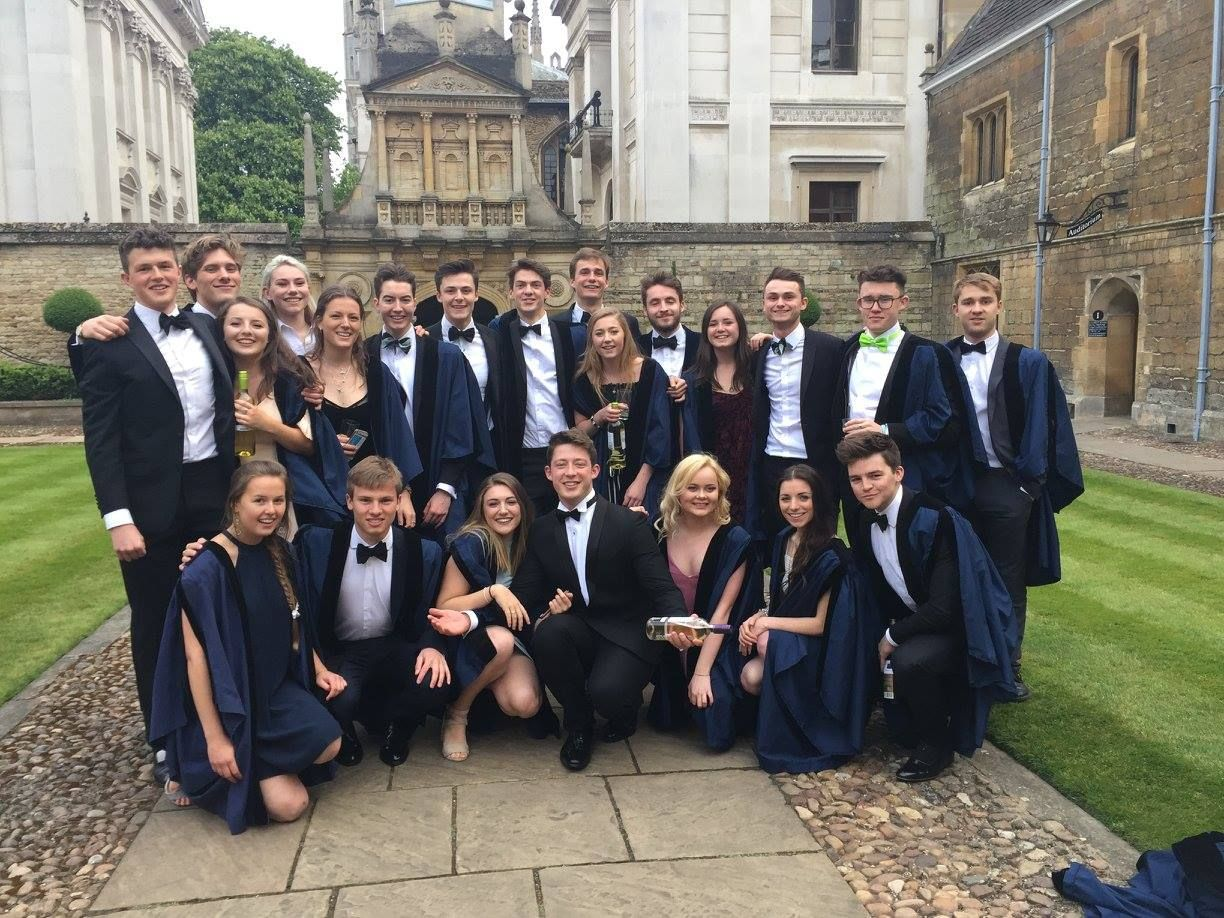 Natsci Gonville And Caius 2017 Academic Dress Fashion Dresses