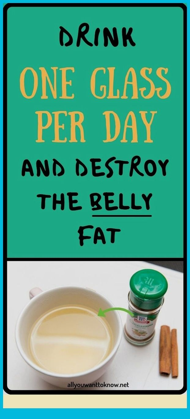Drink One Glass Per Day And Destroy The Belly Fat