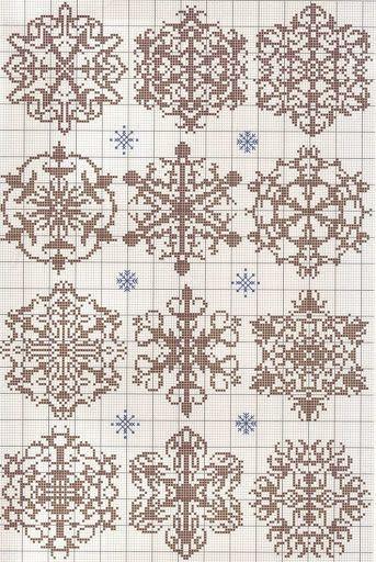 Beautiful Snowflake Knit Pattern Fndur Pinterest Knit