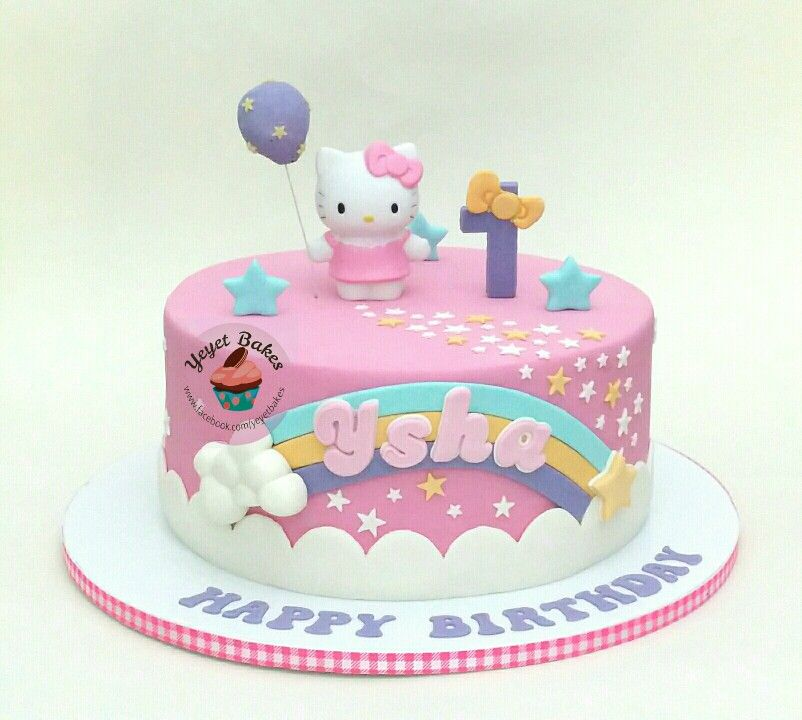 Hello Kitty Cake Cumple Veronica