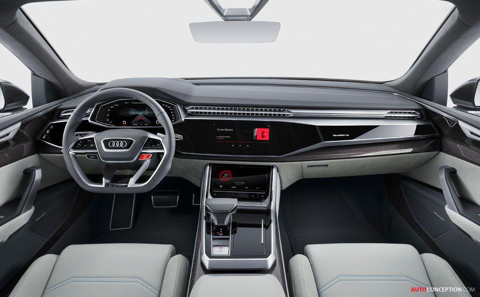 Audi Reveals Near Production Q8 Concept In Detroit